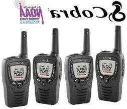 Cobra WALKIE TALKIES 2-WAY RADIO 2-PACK 23 Miles HANDS-FREE