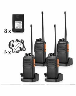 Walkie Talkies Rechargeable For Adults Long Range 4 Pack Wit