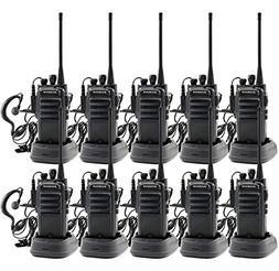 walkie talkies Rechargeable Long Range Waterproof Two-Way Ra