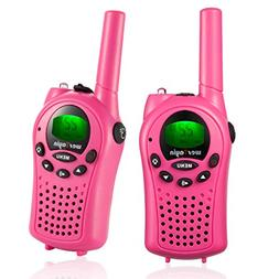 wesTayin Walkie Talkies for Kids, Vox-Hands Free with 4 Mile