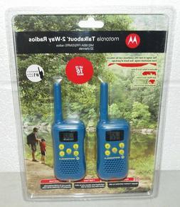 MOTOROLA Walkie Talkies TALKABOUT 2-Way Radios 16-Mile Range