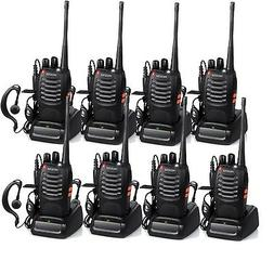 Proster Walkie Talkies Two Way Radio 16 Channel Rechargeable