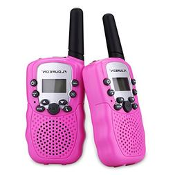 FLOUREON Walkie Talky for Kids Two Pack 22 Channel Two Way R