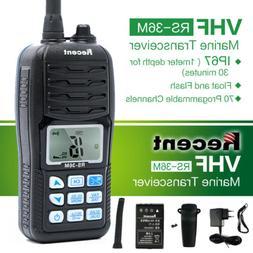 waterproof rs 36m 5w lcd marine wireless