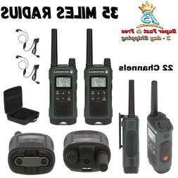 Waterproof Two Way Radio Walkie Talkie Motorola Indoor Outdo