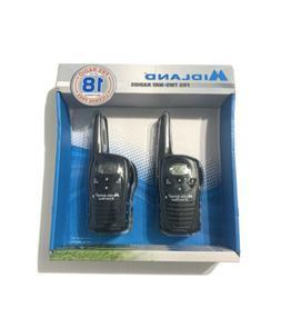 MIDLAND XTRA TALK LXT118 TWO WAY RADIO WALKIE TALKIE GMRS FR