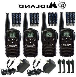 Midland Xtra Talk LXT118VP 4 Pack Set Two Way Radio Walkie T